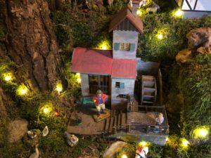 Wassermühle auf dem Weihnachtsberg