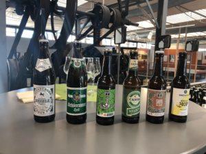 Bierverkostung im Hopfenmuseum in Wolznach