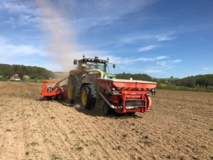Kuhn Planter 3R im Einsatz